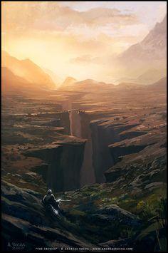 Andreas Rocha - art - The Crevice