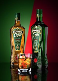 Bonnie and Clyde Scotch Whisky on Packaging of the World - Creative Package Design Gallery