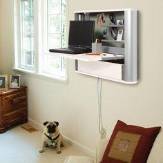 eNook Standard wall-mounted workstation