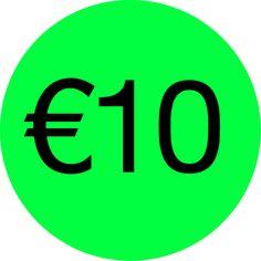 Alle items van 10 euro.