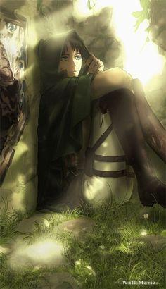 Eren Jaeger. Attack on Titan