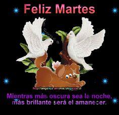 SUEÑOS DE AMOR Y MAGIA: Feliz Martes