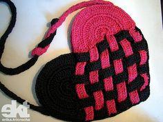 Bolsa Coração de Croche <3 | Flickr - Photo Sharing!
