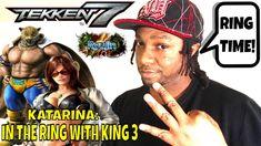 KATARINA: IN THE RING WITH KING 3! (Tekken 7 Season 3)- Gaming, Matches,...