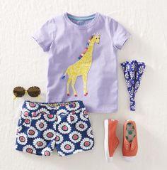 Juegos de vestir osea conjuntos de ropa infantil para el verano > Minimoda.es