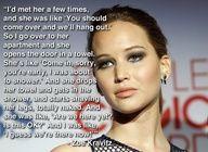 Zoe Kravitz's Close Encounter With Jennifer Lawrence #Celebrities www.behindthetalent.com
