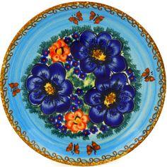 Polish Pottery 7-inch Plate Boleslawiec Stoneware Polmedia H0853E