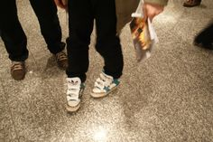 funny shoes on Kasper Harup.Hansen by Adidas, bought at Collette, Paris