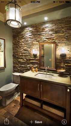 Beautiful bathroom theme/design!