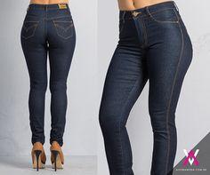 #fashion #jeans #calça #look #emana