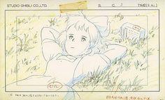 http://freethenerd.tumblr.com/post/75736044443/studio-ghibli-concept-art Kiki's Delivery Service / Studio Ghibli Concept Art