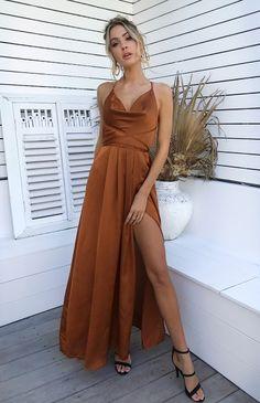 A-Line Long Prom Dress , Sexy Prom Dress evening dresses Orange Prom Dresses, Gala Dresses, Sexy Dresses, Evening Dresses, Wedding Dresses, Types Of Prom Dresses, Fall Formal Dresses, Corset Dresses, Vestidos Color Naranja