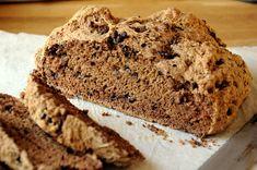 Chocolate Chocolate Chip Irish Soda Bread  bakingbites.com  This is an excellent soda bread!