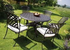 Bramblecrest powder-coated aluminium furniture is rust-free, easy to clean and can be left outside throughout the season withminimal maintenance required. http://www.bramblecrest.com/