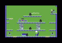 Impossible Mission - those robots were scary... really!  http://www.dosgamers.com/commodore-64/c64-games/impossible-mission