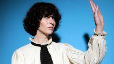 """Future"" thinker Miranda July has a new show opening at the MOCA Pacific Design Center. Miranda July, New Shows, Dreadlocks, Window, Hair Styles, Beauty, Women, Hair Plait Styles, Windows"