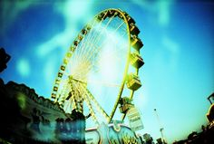 You can't pass a ferris wheel with a lomo camera without capturing it.