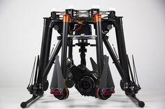 DJI s1000 Heavy Lift multicopter for Canon 5D Mark III - http://FuturisticSHOP.com/dji-spreading-wings-s1000-premium/