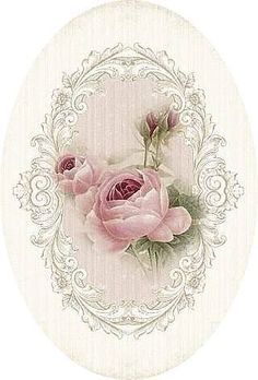 """A WhimsyDust Affair """"Vintage Rose Print by A WhimsyDust Affair"""", """"A WhimsyDust Affair.Really soft pink roses"""", """"A WhimsyDust Affair Aunt IlaVere woul Decoupage Vintage, Vintage Diy, Vintage Rosen, Images Vintage, Vintage Labels, Vintage Ephemera, Vintage Pictures, Vintage Cards, Vintage Paper"""
