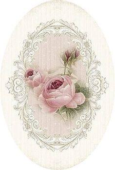 "A WhimsyDust Affair ""Vintage Rose Print by A WhimsyDust Affair"", ""A WhimsyDust Affair.Really soft pink roses"", ""A WhimsyDust Affair Aunt IlaVere woul Vintage Labels, Vintage Ephemera, Vintage Cards, Vintage Paper, Vintage Diy, Vintage Jewelry, Decoupage Vintage, Images Vintage, Vintage Pictures"