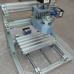 $129.50 (Buy here: http://appdeal.ru/e04g ) Cnc 1610 , 3axis diy mini CNC machine ,Pcb Pvc Milling Machine, cnc engraving machine,Wood Carving machine, diy cnc router for just $129.50