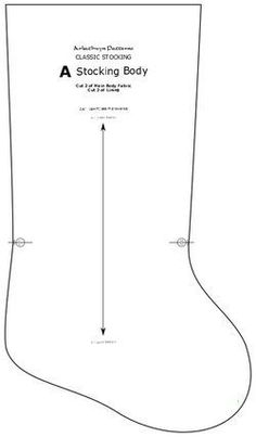 The Classic Stocking - Free Pattern by Arkathwyn Designs - Arkathwyn Designs