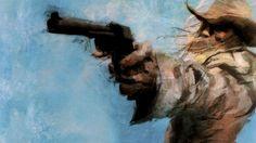 Metal Gear guns cowboys artwork Revolver Ocelot wallpaper ...
