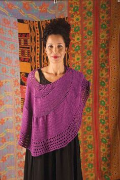 laelia Shawl in Berroco Captiva and Fuji - PDF360-3. Discover more Patterns by Berroco at LoveKnitting. The world's largest range of knitting supplies - we stock patterns, yarn, needles and books from all of your favorite brands.