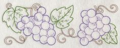 Grape Vine Border (Vintage)