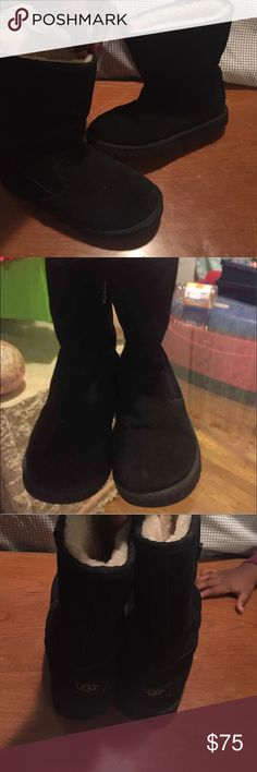 Uggs Black uggs in very good condition UGG Shoes Rain & Snow Boots