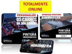 LUCRE COM PINTURA HIDROGRÁFICA ! ÚNICO QUE ENSINA ONLINE #PINTURA #HIDROGRÁFICA #DECORAÇÃO #CARRO #MOTO