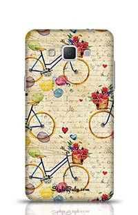 Hand Drawn Watercolor Pattern Samsung Galaxy A7 Phone Case