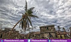 The death toll graph of Haiti rapidly increasing to its peak as Hurricane Matthew batters the eastern end of United States while there are tens of thousands become homeless during its rampage earlier this week.
