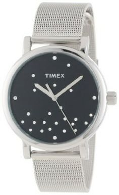 1cd404e9ca2 Relógio Timex Women s T2N987AB Originals Crystal Accents Stainless Steel  Mesh Bracelet Watch  Timex  Relógio