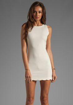 FOR LOVE & LEMONS EXCLUSIVE Rosarito Dress in Ivory - For Love & Lemons