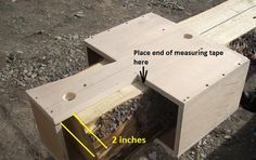 Log Cabin Dovetail Drawing Note If You Make The