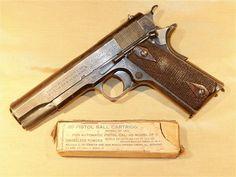 WWI Colt Model 1911 Pistol : Curios & Relics at GunBroker.com