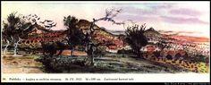 Pnětluky - Krajina se suchým stromem, 1952 It Cast, Painting, Art, Art Background, Painting Art, Kunst, Paintings, Performing Arts, Painted Canvas