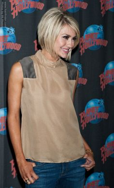 its been 3 days and Ive still had Chelsea Kane& haircut in my head! seriously want to chop my hair! Cute Haircuts, Cool Hairstyles, Hairstyles Haircuts, Teenage Hairstyles, Modern Haircuts, Bob Haircuts, Layered Haircuts, Short Hair Cuts, Short Hair Styles