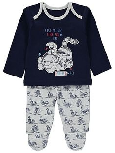 Tigger Pyjama Set, read reviews and buy online at George at ASDA. Shop from our latest range in Baby. Ensure the sweetest of dreams with this adorable Tigger...