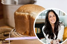 We Tried Joanna Gaines' Bread Recipe and It'll Change How You Bake Joanna Gaines' Sweet Bread Breadmaker Recipe Takes 3 Minutes to Prep Breadmaker Bread Recipes, Bread Maker Recipes, Easy Bread Recipes, Quick Bread, How To Make Bread, Baking Recipes, Vegan Recipes, Joanna Gaines, Recipes