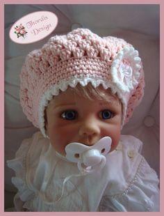BALLONMÜTZE Baby Kind Häkelanleitung Balloon-Beanie // Kids-Beanie // Crochet baby-hat itself: Häkle your child or baby a really cute hat. Get the crochet pattern now. Baby Knitting Patterns, Newborn Crochet Hat Pattern, Crochet Patterns, Baby Patterns, Crochet Baby Sweaters, Crochet Baby Clothes, Crochet Baby Hats, Crochet For Kids, Bobble Crochet