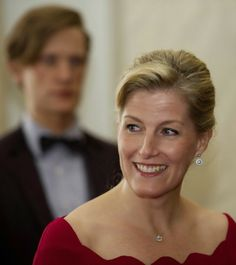 Sophie, Countess of Wessex Hosts a Reception at Buckingham Palace - November 2013