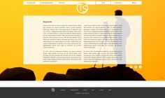 Template portfolio digital