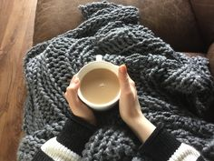 Shop this on Etsy TheWoollyHouse or click the link in my bio! Perfect for cosy nights in Autumn/Winter or for cool evenings outside in Spring/Summer Chunky Knit Throw Blanket, Merino Wool Blanket, Cosy Night In, Spring Summer, Autumn, Cool Stuff, Link, Winter, Shop