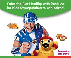 Look for the Produce for Kids Get Healthy, Give Hope campaign this May - August at your local store.