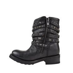 ash | tempt biker boots |
