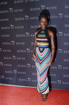 Lupita Nyong'o Tapete Vermelho