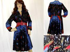 Vintage Dress / Size SM / Tea Dress / Day by VintageSquirrels, $24.95