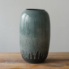 All of our vases are hand-thrown and glazed in the Tortus Studio. All UNIKA vessels bare the Tortus stamp. All vessels are in the Tortus boutique in Copenhagen and will be sent 1-2 days after your order is placed. 30 cm in height.
